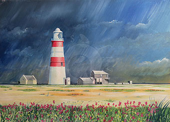 landscape paintings by Hampshire artsist